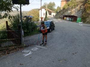 Partenza della gara 2km
